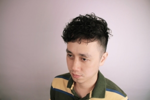 cinco 卷髮 男士 ethan