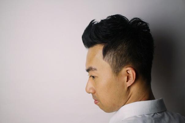 cinco wesly 剪髮 油頭