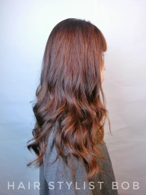 女生 染髮 長髮 CINCO