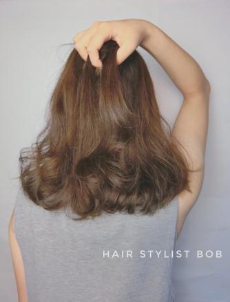 女生 大波浪 燙髮 髮型