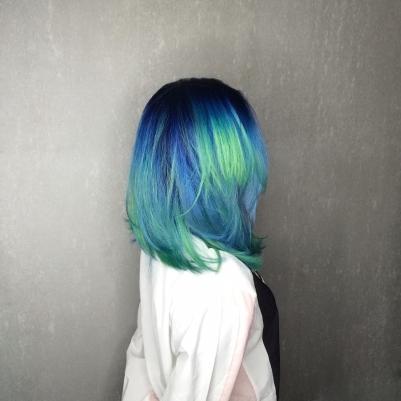 染髮 女生 髮型