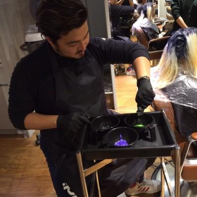 染髮中 CINCO