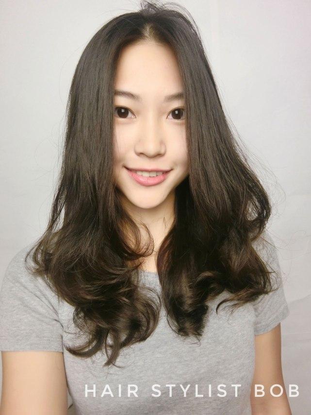 中長髮燙4