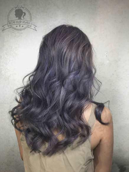 灰紫色漸層
