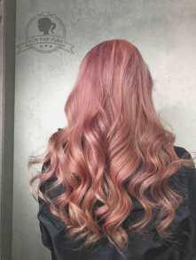 粉色調漸層