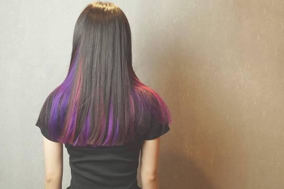 長髮 染髮 特殊色