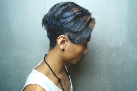 染髮 極短髮 特殊色 髮型