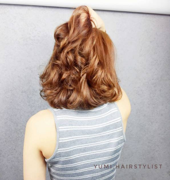 染髮 捲髮 短髮