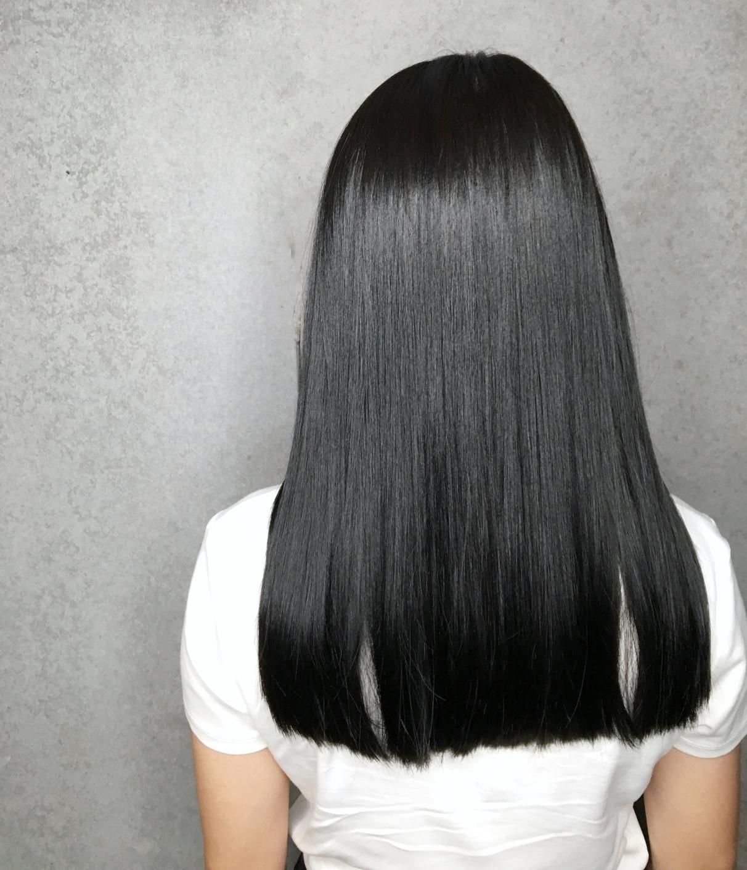 俐落 中長髮