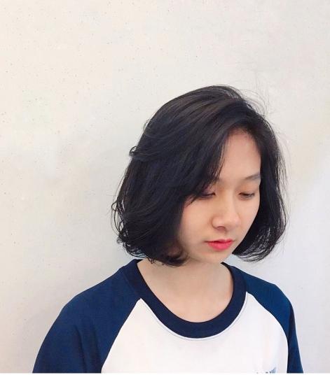 短髮 捲髮 髮色