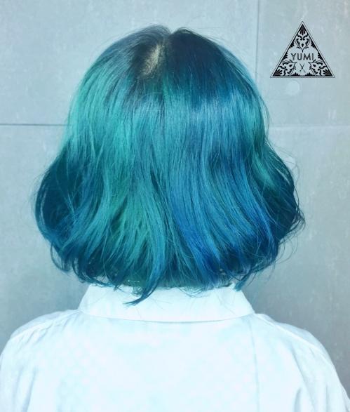 特殊色 漂髪 染髮