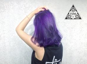 特殊色 染髮 內彎 Yumi