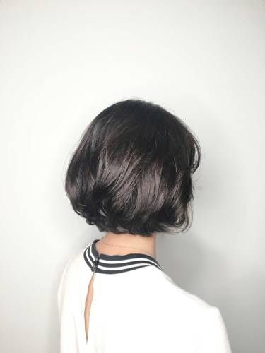 短髮 微卷