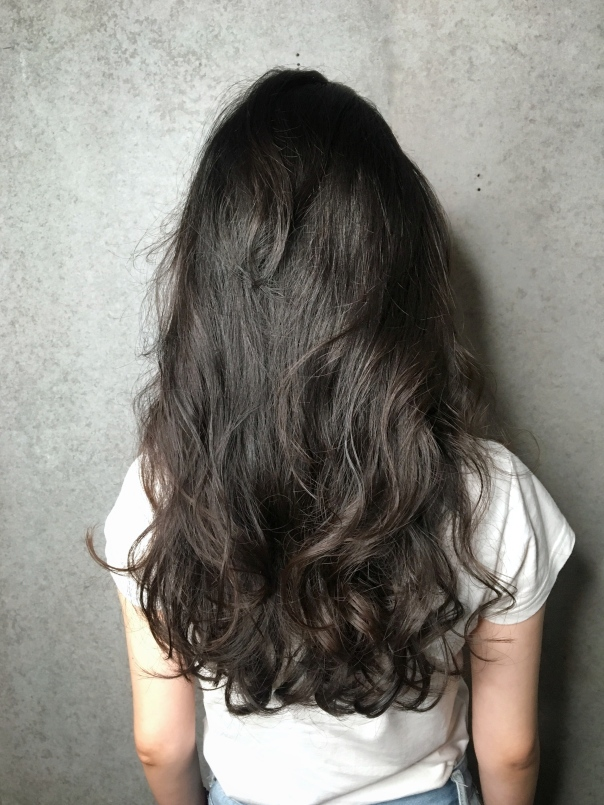 慵懶 長髮 捲髮