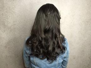 長髮 自然波浪捲髮