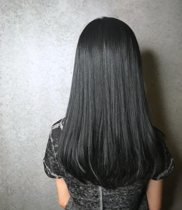 氣質 內彎 長髮