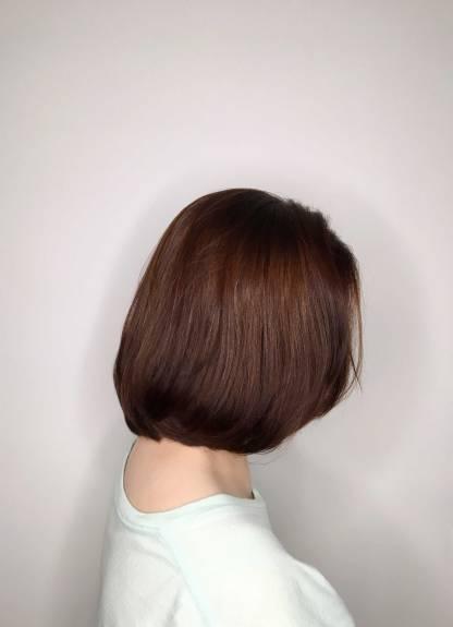 短髮 染髮 內彎Vita