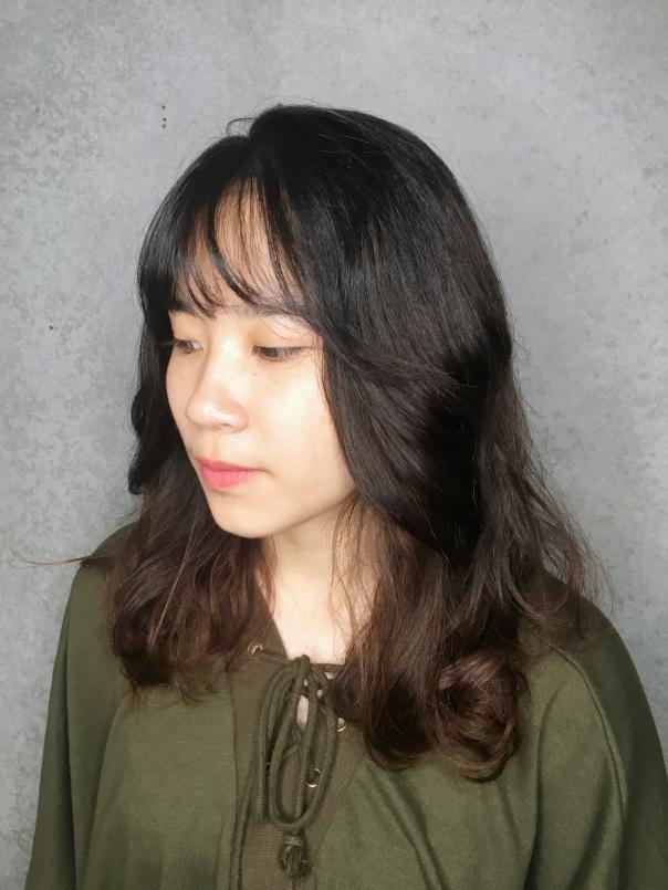 大卷 中長髮