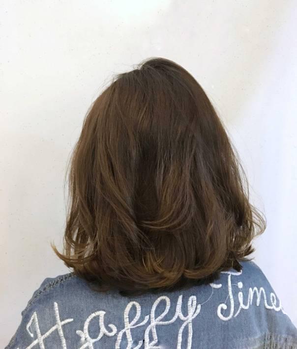 短髮 內彎 卷髮