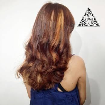 燙髮 長髮 染髮
