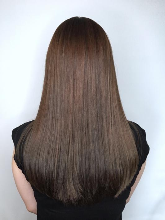 精選染髮 冷棕色