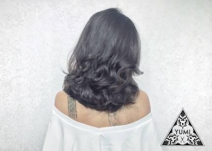 染髮 特殊色 捲髮