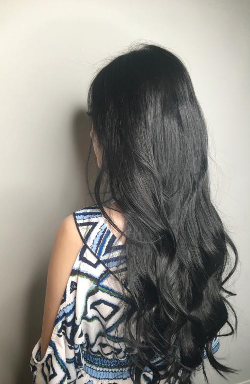 霧感髮色 波浪大捲髮