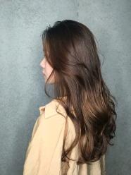 燙髮 推薦 波浪長髮 大卷 經典棕色