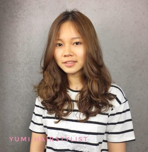 長髮 捲髮 燙髮 髮型