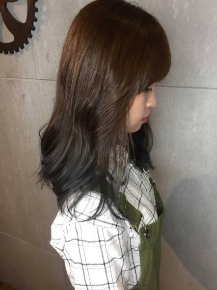 中長髮 髮型 捲髮 燙髮