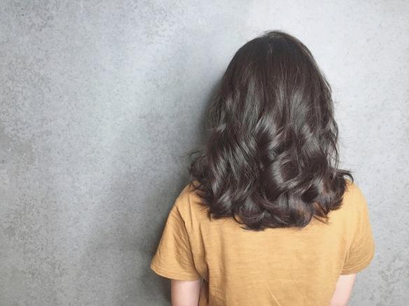 中長髮 自然微卷
