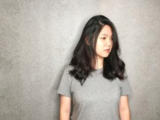長髮 蓬鬆自然卷