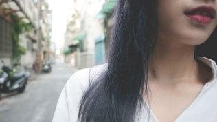 人氣推薦 特殊色染髮 藍灰色