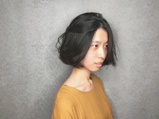 短髮 微彎
