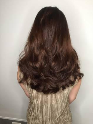 長髮 大卷 波浪 燙髮 髮型