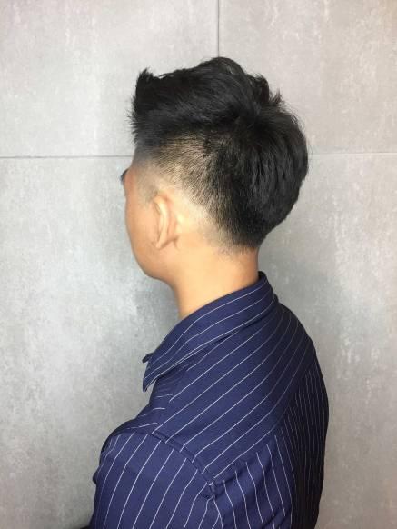 剪髮 男生髮型 Mona