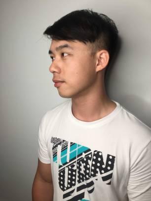 短髮 剪髮 Mona