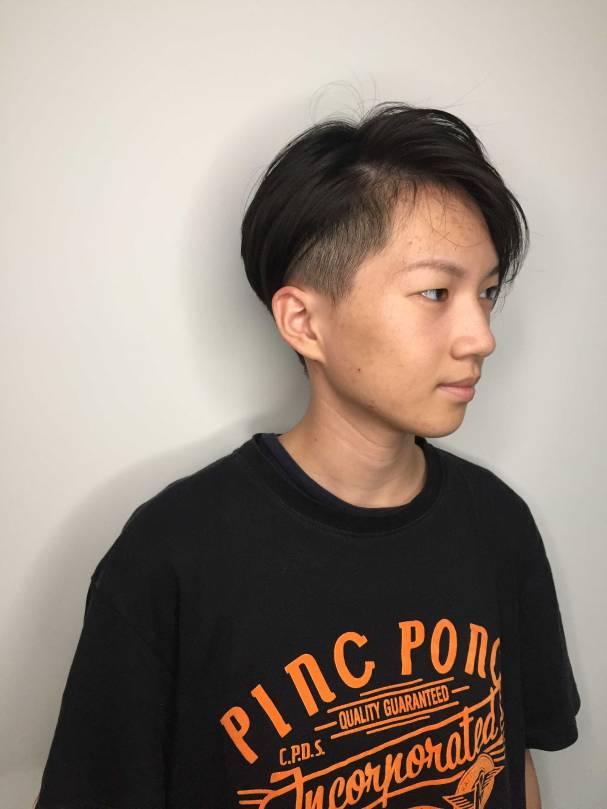 短髮 髮型