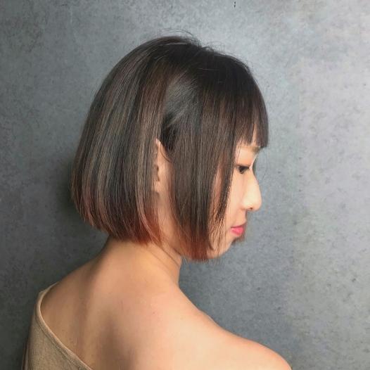 特殊染髮 髮尾漸層感挑染