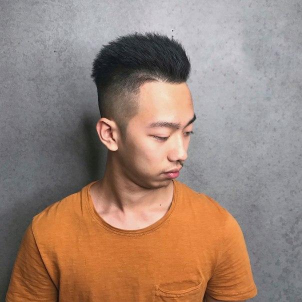 男生髮型 俐落短髮