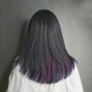 染髮推薦 低調特殊色 藍紫灰