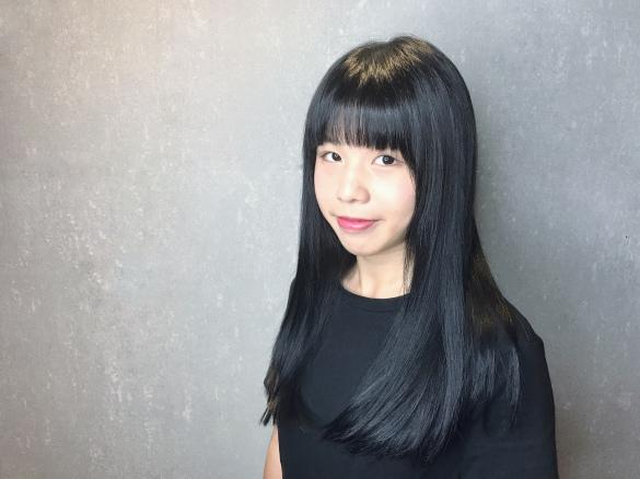 長髮 質感 染髮