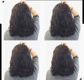 中長髮 捲髮