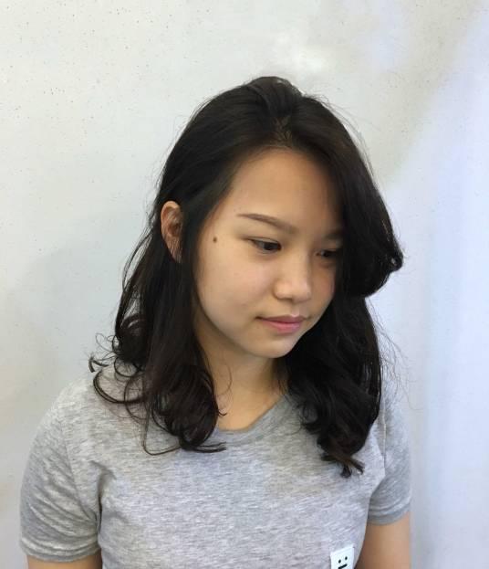中長髮 捲髮 燙髮 Vita