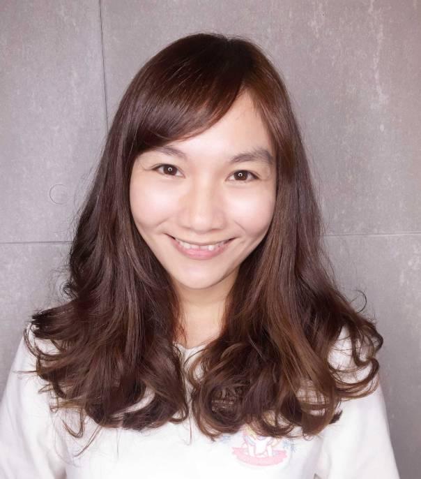中長髮 染髮 捲髮 髮型 Yumi