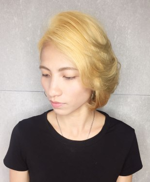 短髮 漂髪 退色 特殊色