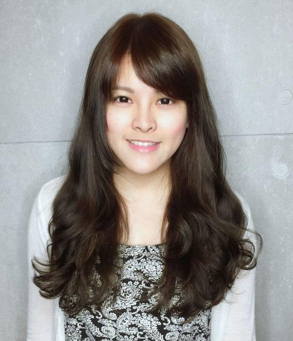 長髮 捲髮 髮型 大卷 Yumi