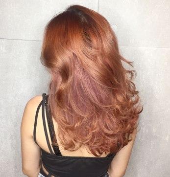 染髮 特殊色 捲髮 漂髪