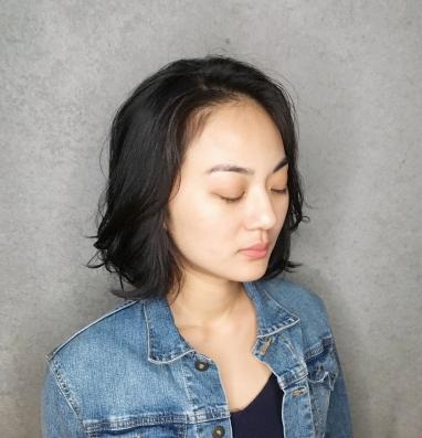 氣質 短捲髮
