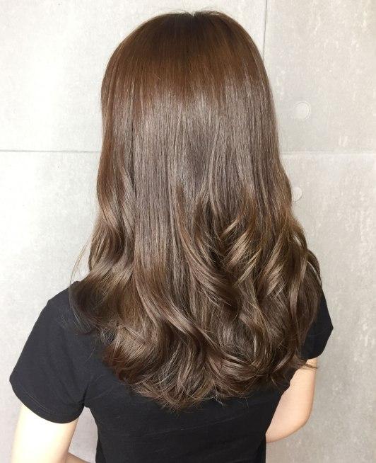 中長髮 燙髮 捲髮 髮型